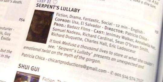 Serpents Lullaby Cannes Winner