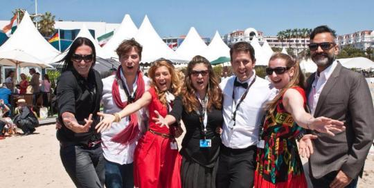 Serpents Lullaby Cast and Crew on la Croisette