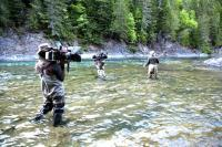 King of the river - Film Fixer pabos river gaspes peninsula easter quebec