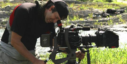 King of the river - Film Fixer Canada Richard Duquette, director of photography