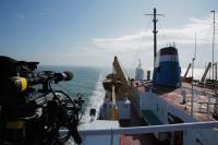 King of the river - Film Fixer Canada on the saint-Laurent river from matane to the north shore Time-Lapse on a boat