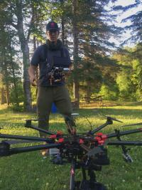 King of the river - Film Fixer Canada The drone's ready