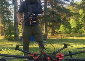 The drone's ready