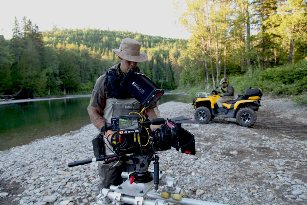King of the river - Film Fixer Canada Getting ready for Can-am advertising