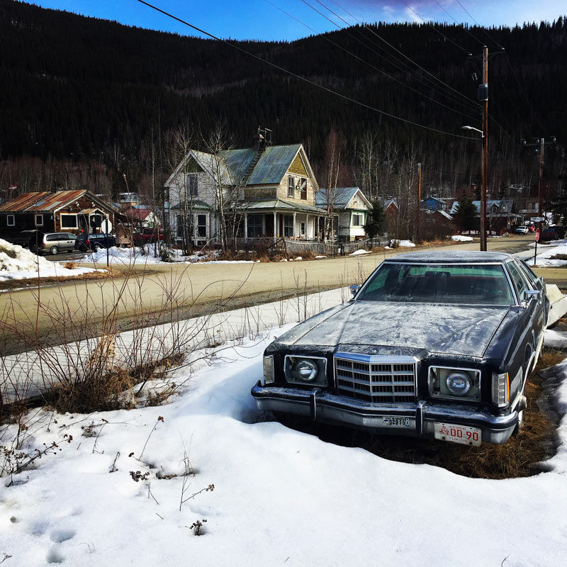 FS_Films_Location Scouting Yukon Canada dawson car