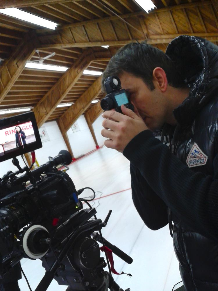 Sweeping Forward Director of photography reshoot Ice arena montreal