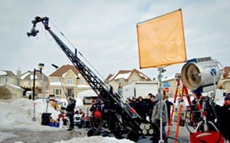 Films.Solutions on set with only the best filmmaking equipment