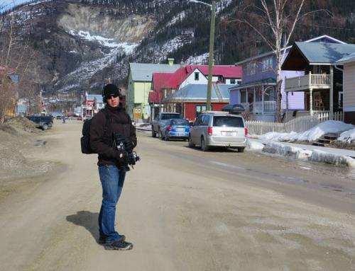 Bye bye la Suisse – Ready to shoot in Dawson City, Yukon