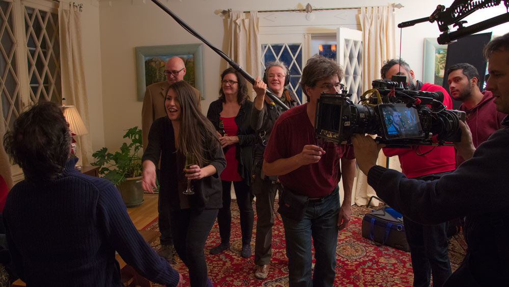 Action, actress and actors, 1 AC and sound woman