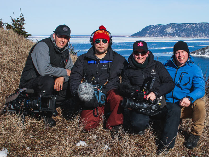 Grands sentiers Nouvelle Ecosse MeatCove Canadian production Crew