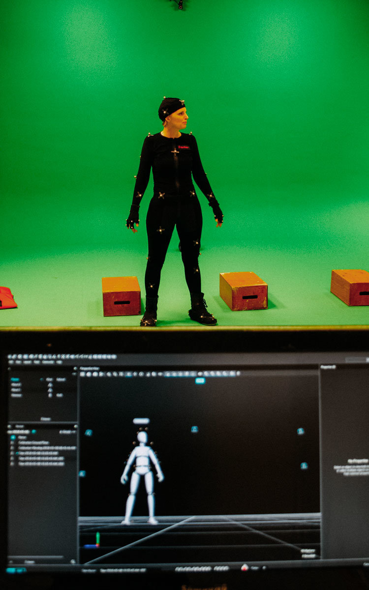 films Solutions Motion Capture Montreal Film Production personage