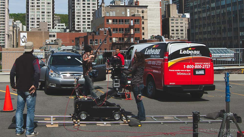Advertising production in montreal with the Films.solutions team for a television commercial for the company Speedy Glass. These TV commercials were aired on the TVA network. Production of documentary and advertising film services